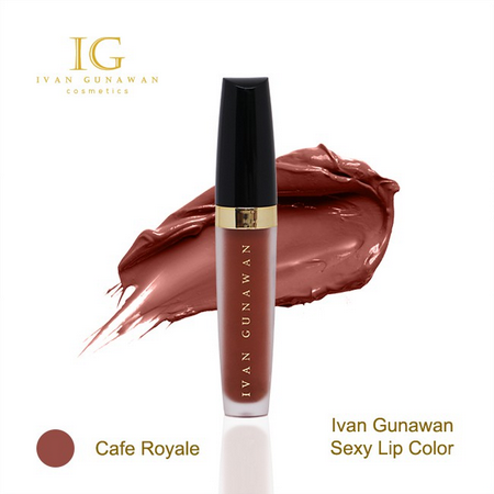 Ivan Gunawan Sexy Lip Color Cafe Royale