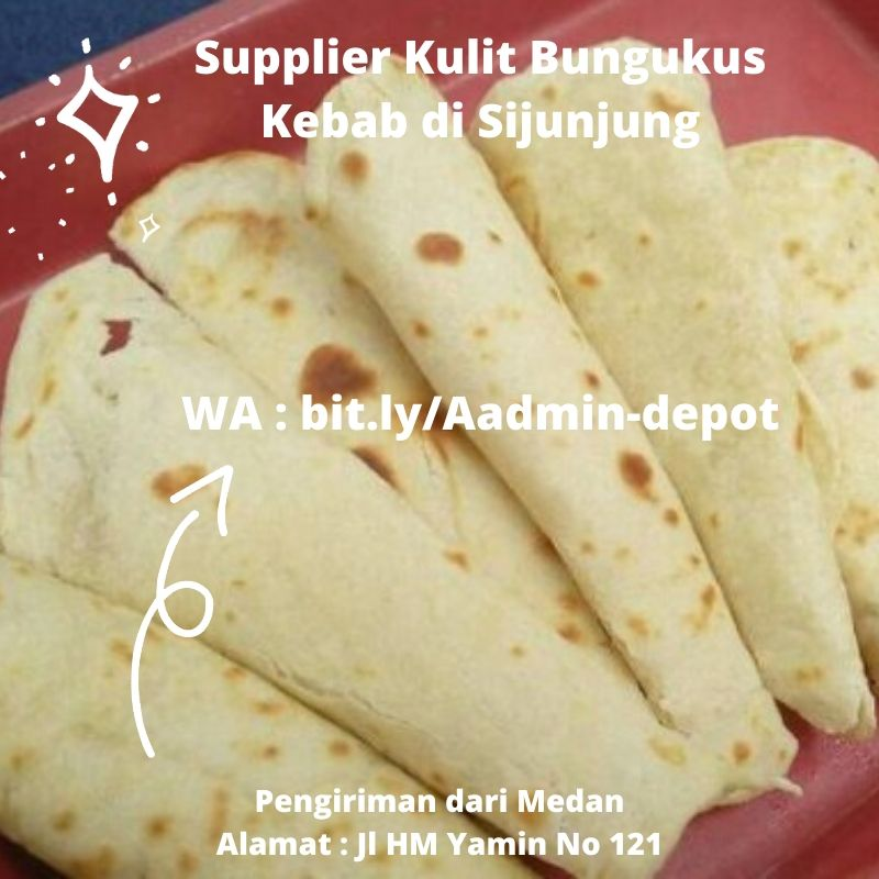Supplier Kulit Bungkus Kebab di Sijunjung Shipping from Kota Medan