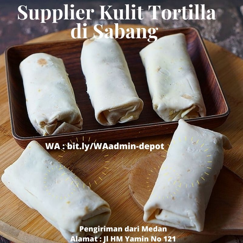 Supplier Kulit Tortilla di Sabang