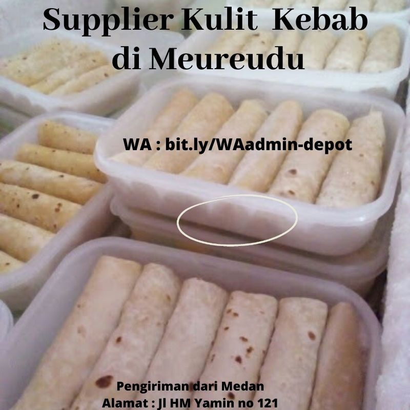 Supplier Kulit Kebab di Meureudu