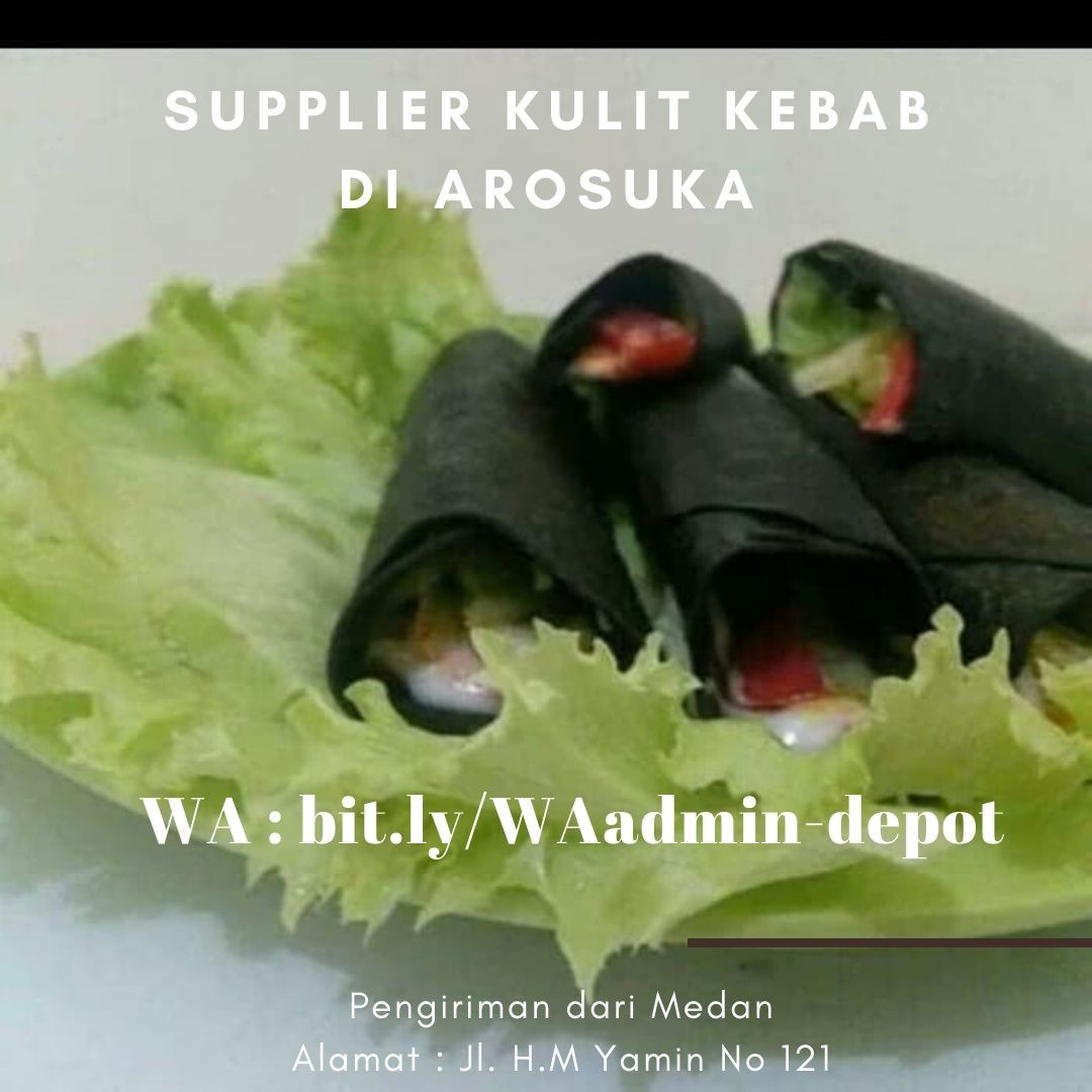 Supplier Kulit Kebab di Arosuka Shipping dari Medan