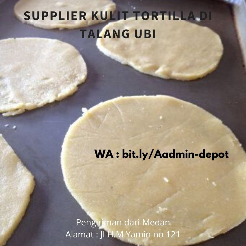 Supplier Kulit Tortilla di Talang Ubi Toko from Medan
