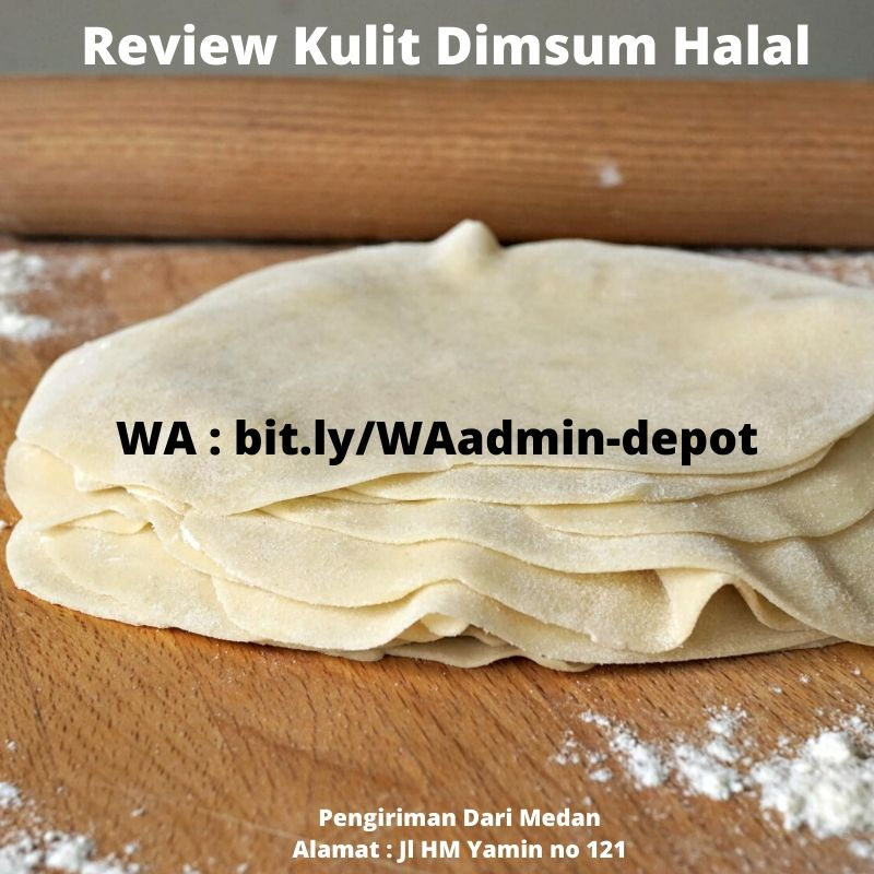 Review Kulit Dimsum Halal