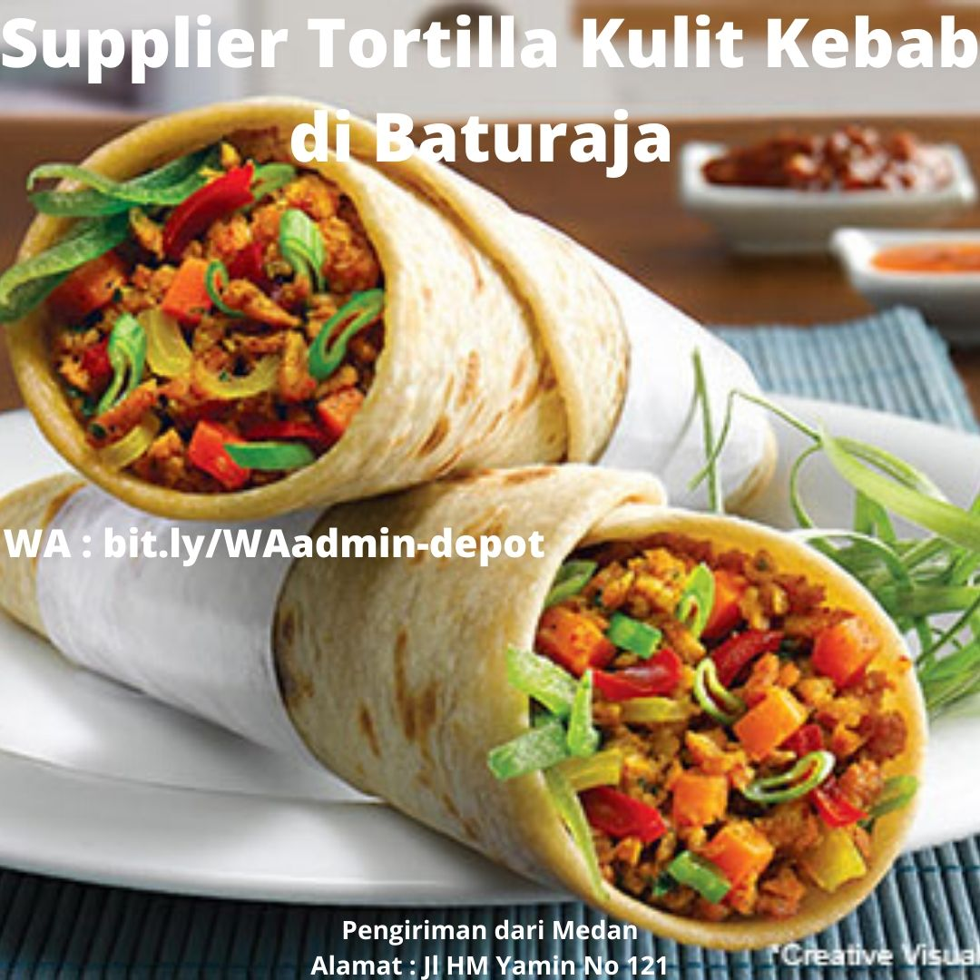 Supplier Kulit Kebab di Baturaja Shipping asal Medan