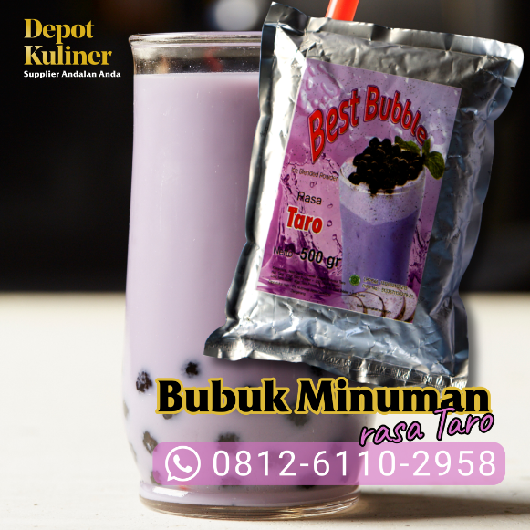 Rekomendasi Supplier Bubuk Minuman Best bubble
