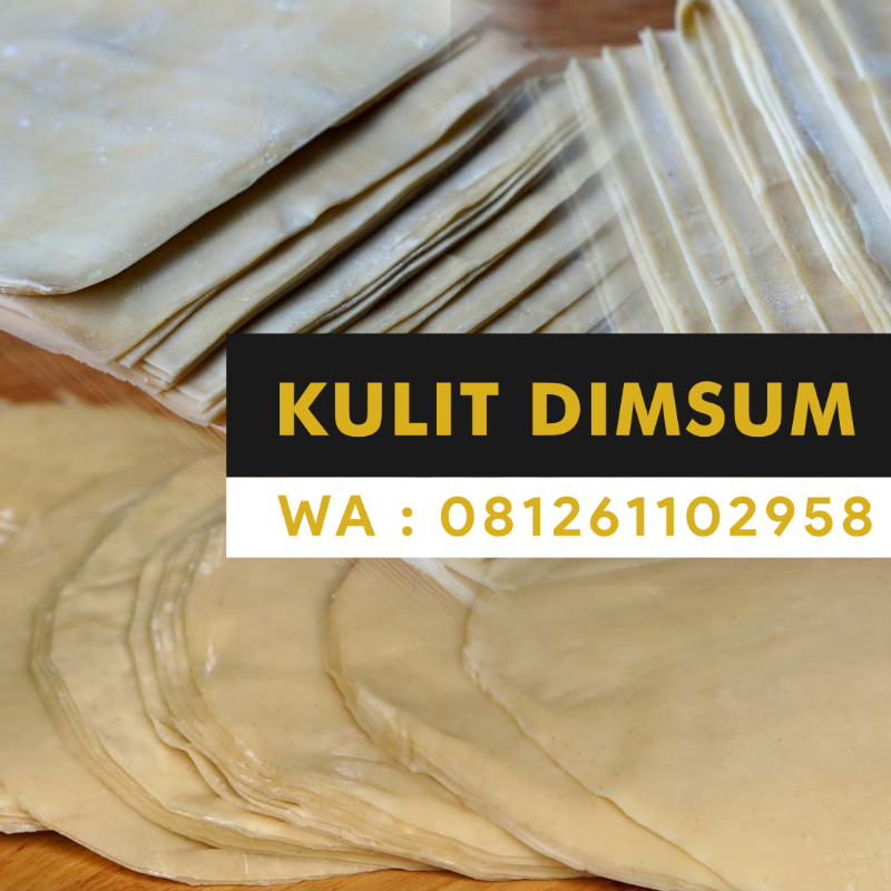 Supplier Kulit Dimsum di Serang