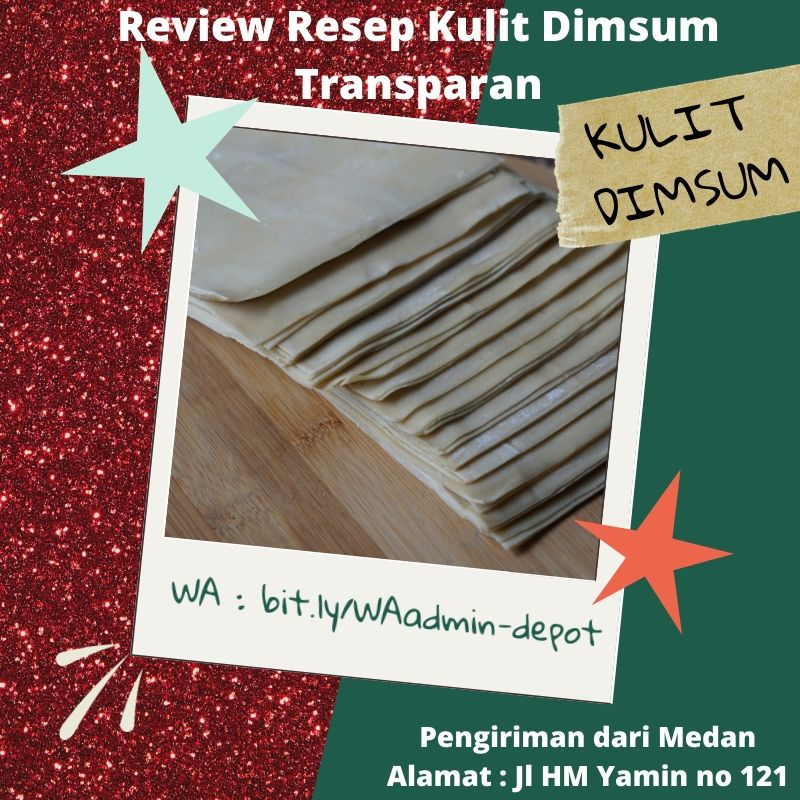 Review Resep Kulit Dimsum Transparan