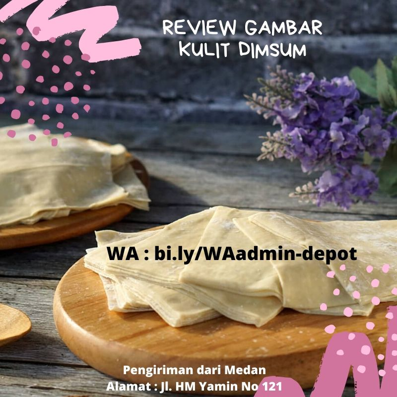 Review Gambar Kulit Dimsum
