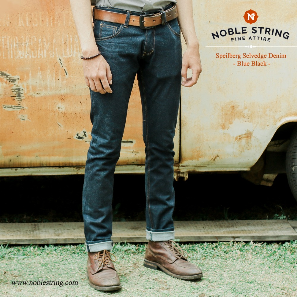 "Denim Series : "" Speilberd Selvedge Denim """