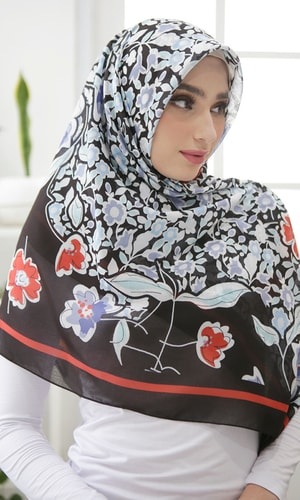 Shinning Flower Scarf