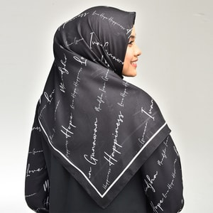 Hope Black Scarf
