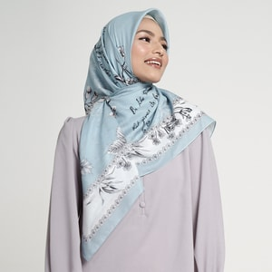 Sweetheart Blue Scarf