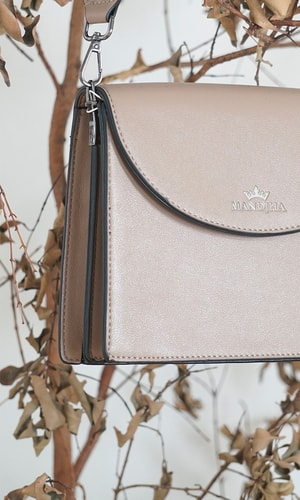 Mandjha Cross Body Bag Brown