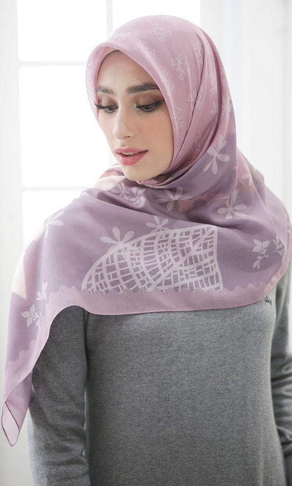 Beauty Plum Scarf