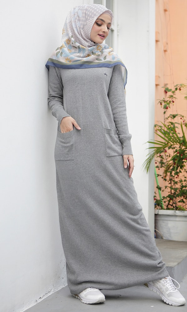Knit Pocket Dress