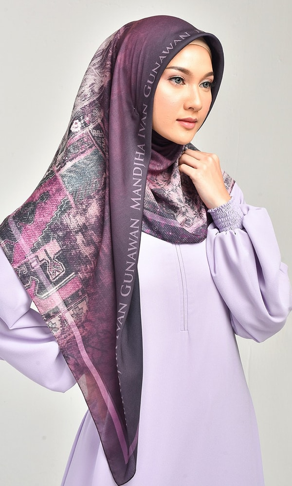 Milan Purple Scarf