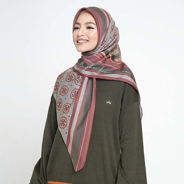 Faith Love Olive Scarf