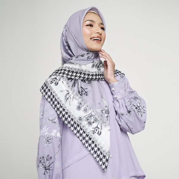 Sweetheart Lilac Scarf