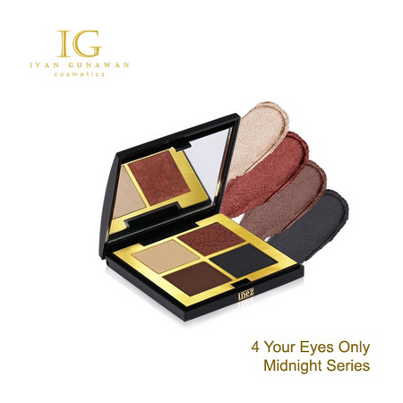 Ivan Gunawan 4 Your Eyes Only Midnight Series. Eye shadow palette