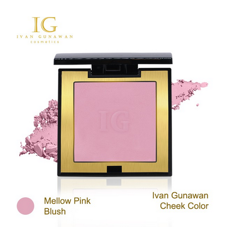 Ivan Gunawan Cheek Color Mellow Pink Blush.