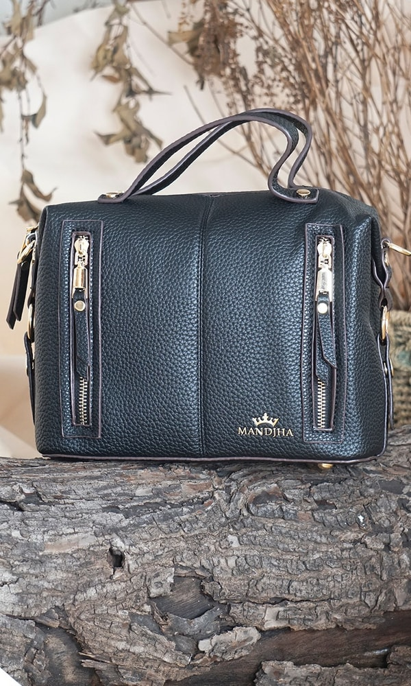 Mandjha Hand Bag Black