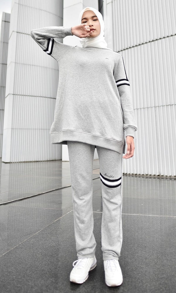 Stripe Monochrome Sweatshirt